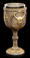 Wikinger Kelch - Nordischer Gott Loki