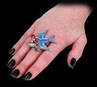Swallow Love Ring - Alchemy UL17