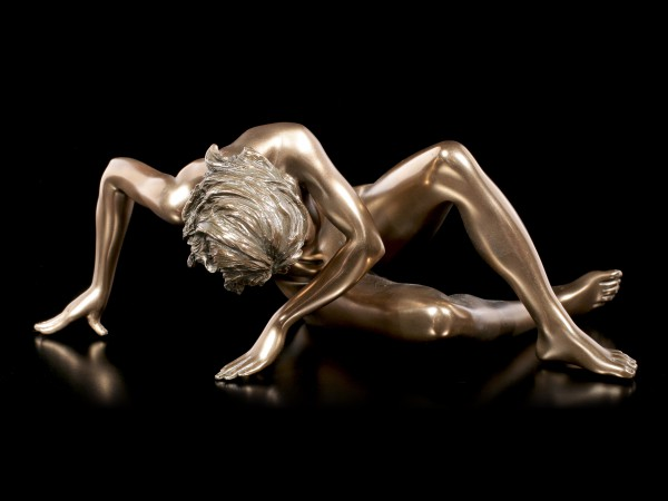 Female Nude Figurine - Lying on Ground