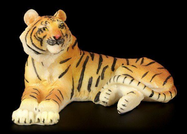 Tiger Figure - Lying on the Floor