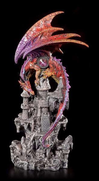 Colored Dragon Figurine - Guardian of Castle Black