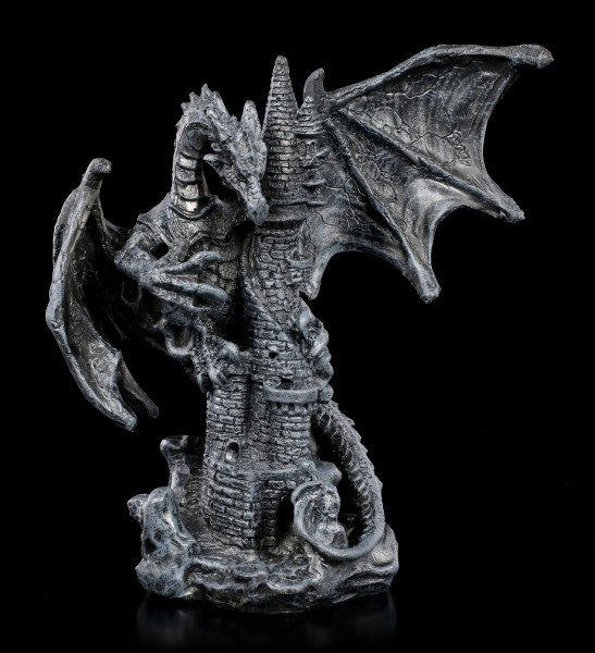 Schwarze Drachen Figur - Nobody is Save
