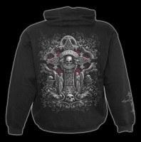 Kapuzenpulli Gothic - In Goth We Trust