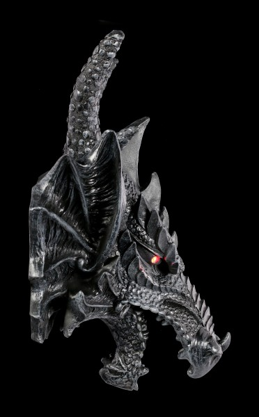 Wall Plaque - Dragons Head with LED