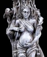 Tealight Holder - Triple Goddess black