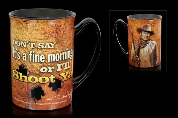 John Wayne Ceramic Mug - I'll Shoot Ya!