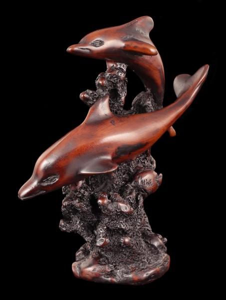 Zwei Delfine - Figur
