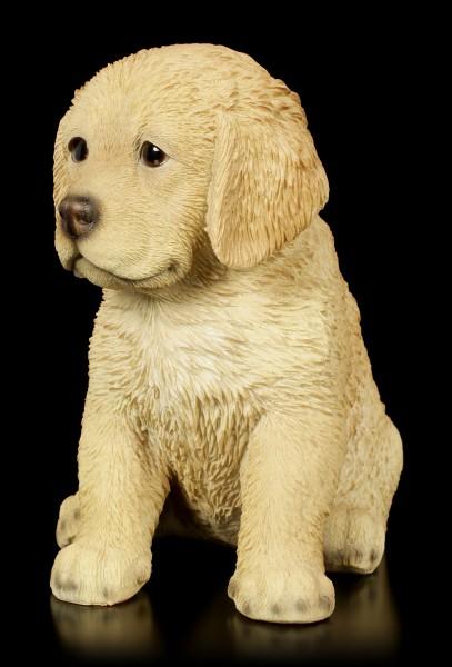 Dog Figurine - Golden Retriever Puppy