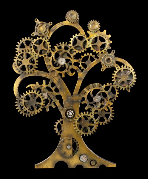 Steampunk Wall Plaque - Tree of Life