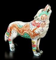 Wolf Spirit Figur - Azteke