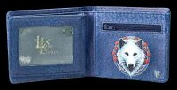 Wallet with Wolf - Guardian of the Fall