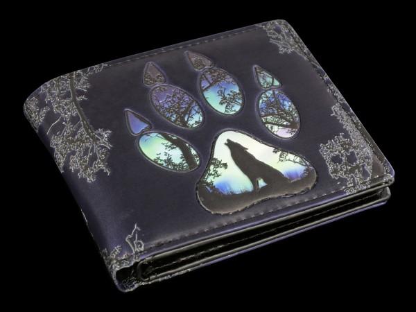 Herren Geldbörse - Wolf Footprints