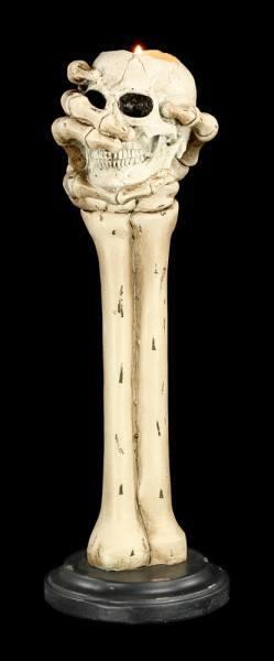 Teelichthalter - Grip of Death
