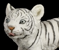 White Tiger Figurine - Baby Plodding