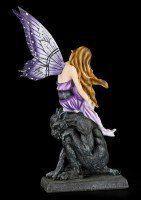 Fairy Figurine - Georgiana on Gargoyle