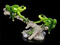 Frosch Figuren - Waldfrösche