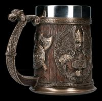Krug Wikinger Götter - Odin & Thor