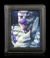 Wallet with 3D Picture - Mischief Clown