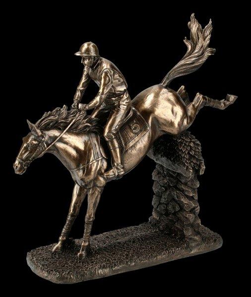 Jockey Figurine - Show Jumper