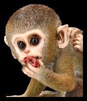 Gartenfigur - Affen Babys