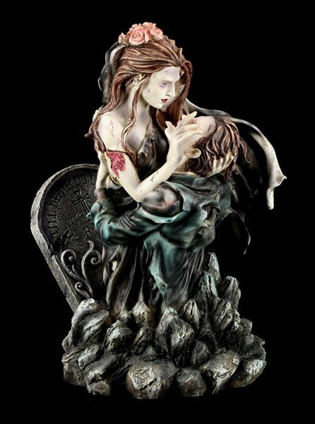 Zombie Figurine - Till Death Do Not Part Us