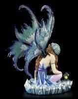 Elfen Figur - Melissa schläft bei den Kristallen