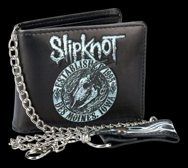 Slipknot Wallet - Flaming Goat