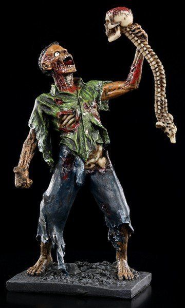 Zombie Figur by Tom Wood