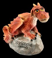Dragon Figurine - Welcome Friends