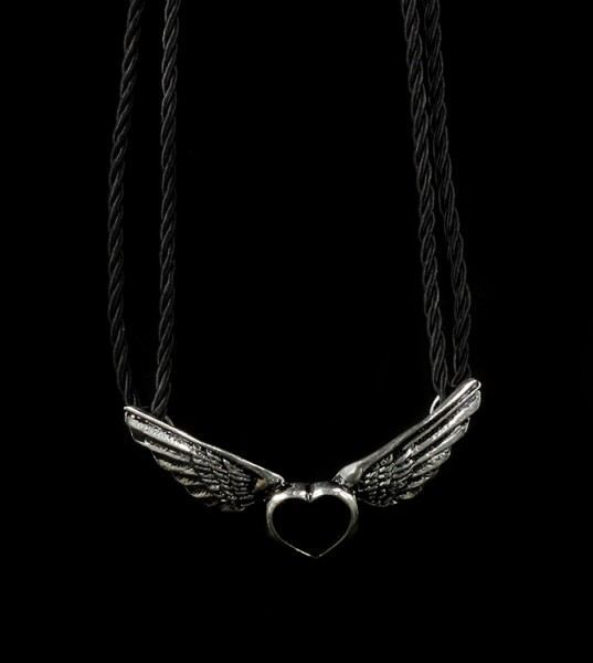 Coeur Noir - Alchemy Gothic Halskette
