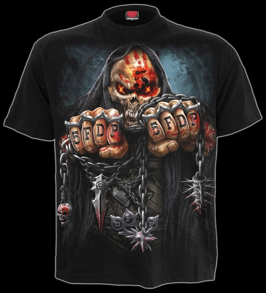 Five Finger Death Punch T-Shirt - 5FDP Game Over