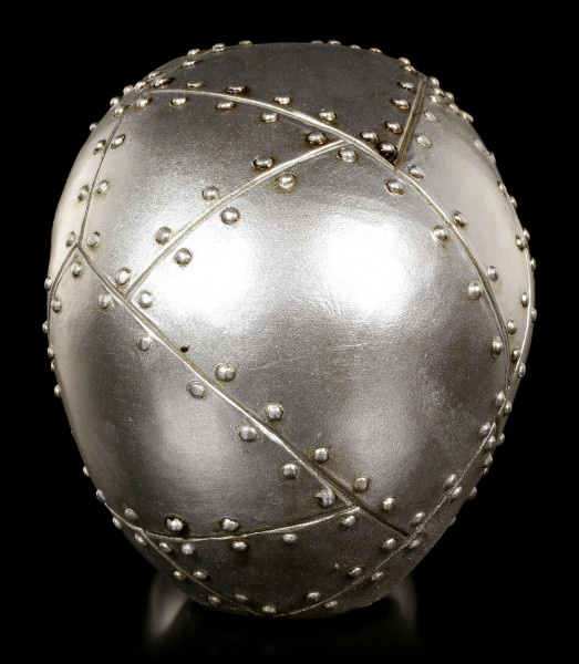 Totenkopf - Metallplatten Optik