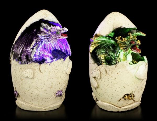 Dragon Babys Hatchlings with LED - Set of 2