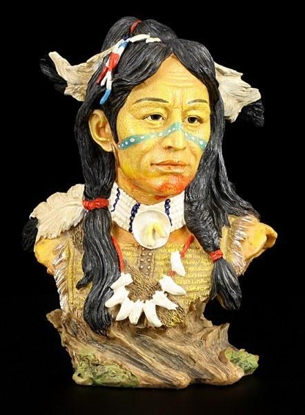 Indianer Büste - Cheyenne