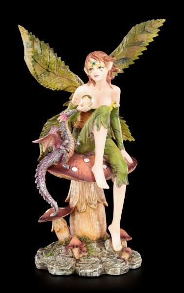 Fairy Figurine - Dracolia with Dragon