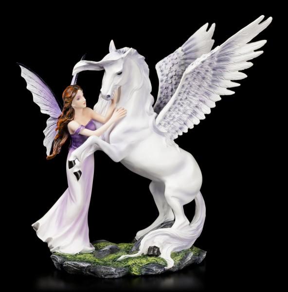 Fairy Figurine - Eire with Pegasus