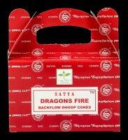 Backflow Räucherkegel - Dragon Fire by Satya