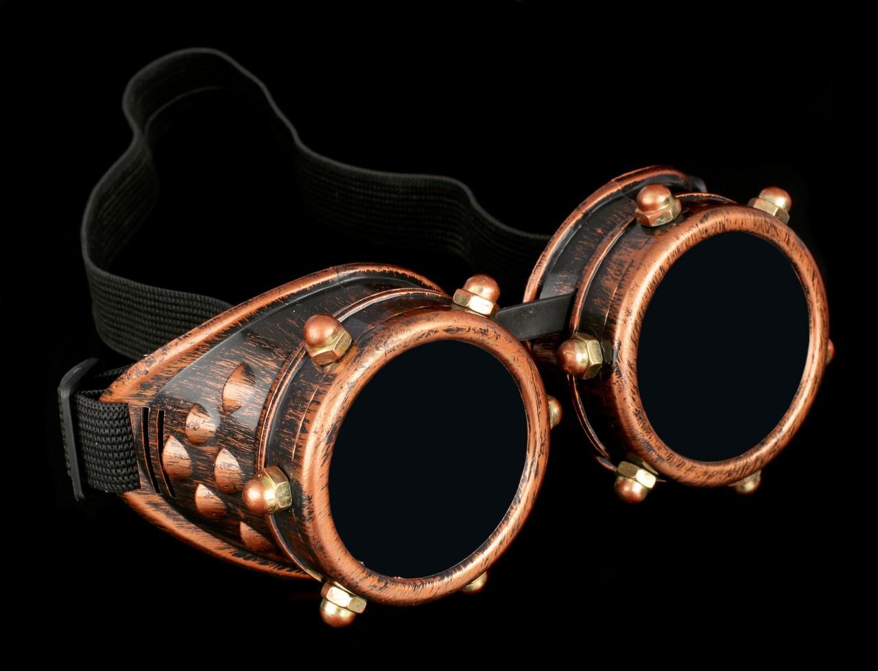Steampunk Brille - Industrial Gaze