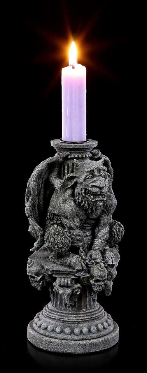 Gargoyle Candle Holder - Hugo the Light Keeper