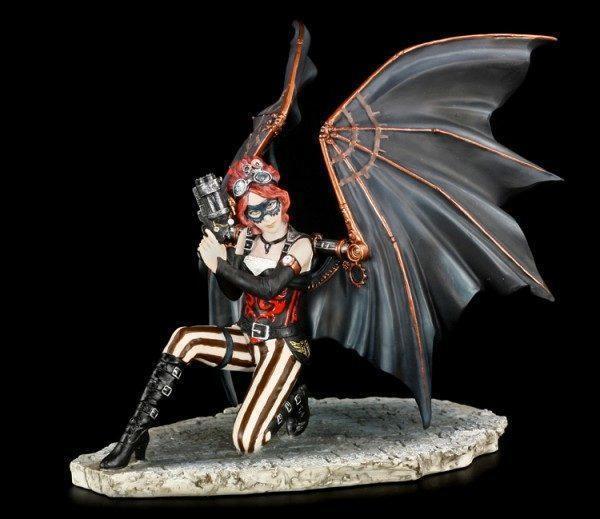 Anne Stokes Figur - Assassin - Steampunk Engel