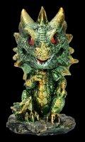 Bobble Head Figurine - Dragon Bobling - green