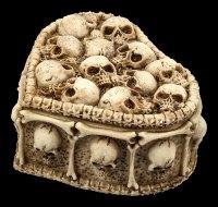 Skull Box Heart Shaped