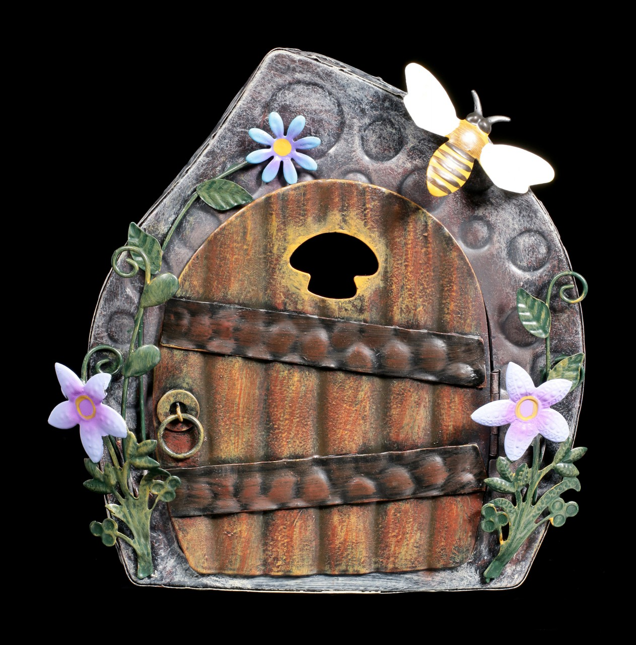 Elfen Metall Tür - Beekeepers Cottage