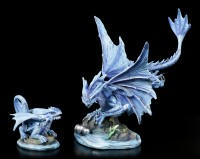 Baby Water Dragon Figurine
