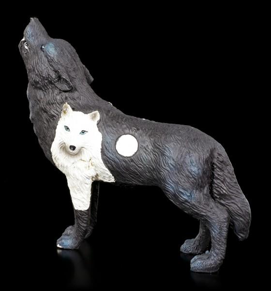Wolf Spirit Figurine - Black