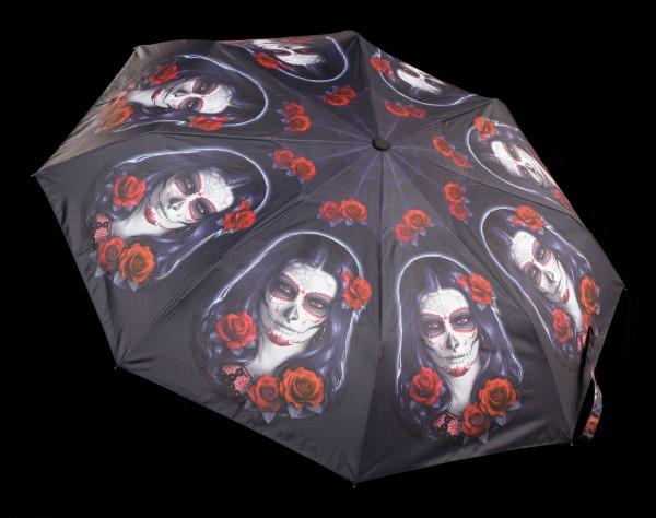 Regenschirm Day of the Dead - Sugar Skull