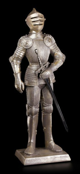Large Knight Figurine with Sword