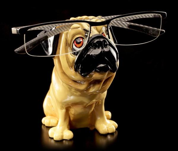 Hunde Brillenhalter - Mops - Opti Paws