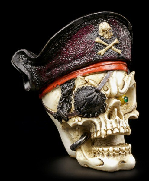 Preview: Skull with Bandana