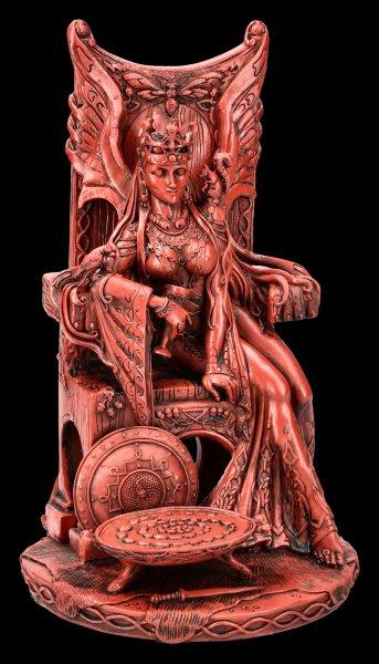 Celtic Goddess Figurine - Queen Maeve - red